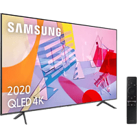"TV QLED 55"" - Samsung 55Q60T, 4K UHD, Smart TV, Wide Viewing Angle, IA, Asistentes de voz"