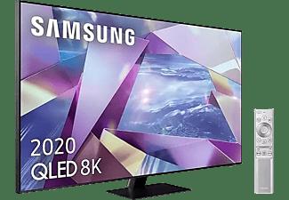 "TV QLED 55"" - Samsung QE55Q700TATXXC, UHD 8K 7680x4320 píxeles, Smart TV, DVB-T2, Control por voz, Negro"