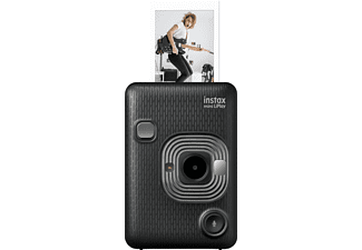 FUJIFILM mini LiPlay Sofortbildkamera, Dark Gray