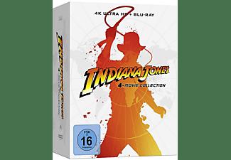 Indiana Jones 4 Movie Steelbook Collection 4K UHD [4K Ultra HD Blu-ray + Blu-ray]