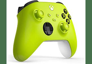 Mando inalámbrico - Microsoft Xbox One Controller Wireless QAS-00022, Para Xbox One Series X/S, Amarillo