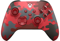 Mando inalámbrico - Microsoft Xbox One Controller Wireless QAS-00017, Para Xbox One Series X/S, Camuflaje rojo