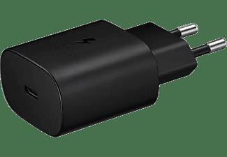 Cargador - Samsung EP-TA800NBEGEU, 25 W, Super Fast Charging, Sin Cable, Negro