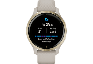 GARMIN Venu 2S Smartwatch Polymer Silikon, 110-175 mm, Beige