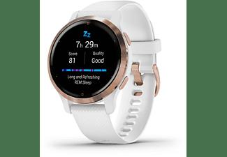 GARMIN Venu 2S Smartwatch Polymer Silikon, 110-175 mm, Weiß