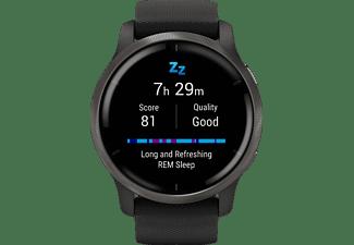 GARMIN Garmin Venu 2 Smartwatch Polymer Silikon, 135-200 mm, Schwarz