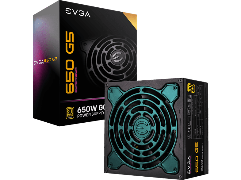 EVGA SuperNOVA 650 G5 8220-G5-0650-X2 Netzteil Watt