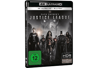 Zack Snyder's Justice League 4K Ultra HD Blu-ray + Blu-ray