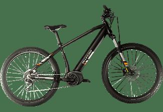 ALLEGRO E MTB M-Cross Mountainbike (Laufradgröße: 27,5 Zoll, Unisex-Rad, 504 Wh, Schwarz)
