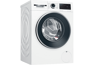 Lavadora secadora - Bosch WNG25400ES, 10 kg/6 kg, 1400 rpm, Motor EcoSilence, AntiManchas, Blanco