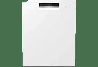 Lavavajillas - Hisense HS661C60W, Independiente, 16 servicios, 5 programas, Lavado Rápido, 60 cm, Blanco