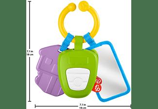 FISHER PRICE Aktivitätsschlüssel für unterwegs Babyrasselspielzeug Mehrfarbig