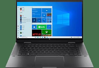 HP Convertible ENVY x360 15-eu0900ng, R7-5700U, 16GB, 1TB, 15.6 Zoll Touch FHD, Nightfall Black