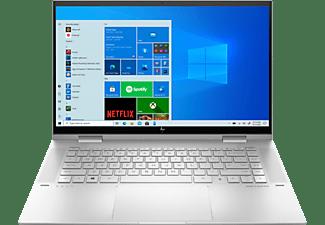 HP Convertible ENVY x360 15-es0900ng, i7-1165G7, 16GB, 1TB, 15.6 Zoll Touch FHD, Natursilber