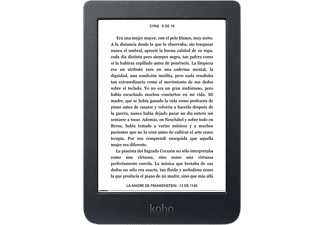 "eReader - Kobo Nia, 6"", 8 GB, Para eBook, 212ppp, ComfortLight, Negro"