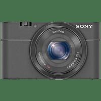 Cámara - Sony DSC-RX100, Sensor CMOS, Apertura f/1.8, Lente Zeiss, Full HD, 20 Mp