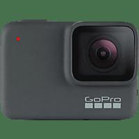 Cámara deportiva - GoPro HERO7 Silver, Vídeo 4k30, 10MP, Wi-Fi, GPS, Bluetooth, Gris oscuro