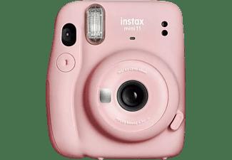Cámara instantánea - Fujifilm Fuji Instax Mini 11 Pi, 62 x 46 mm, Flash, Rosa