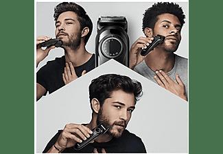 Cortapelos - Braun, BT3222 Recortadora De Barba Y Cortapelos Para Hombre, 20 Ajustes De Longitud, Negro