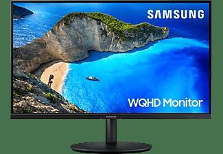 """Monitor - Samsung LF27T700QQUXEN, 27"""" WQHD, 5 ms, 75 Hz, HDMI, DisplayPort 1.2, 350 cd/m² , Negro"""