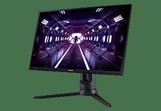 "Monitor gaming - Samsung Odyssey G3 LF24G35TFWUXEN, 24"" FHD, 1ms, 75 Hz, Display Port, FreeSync Premium, Negro"