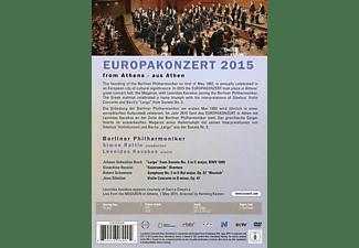 BERLINER PHILHARMONIKER / SIMON RATTLE / LEONIDAS - Berliner Philharmoniker-Europakonzert 2015  - (DVD)