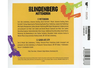 Udo Lindenberg - Mittendrin (2-Track)  - (5 Zoll Single CD (2-Track))