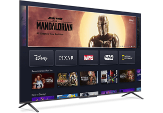 TCL 50C725 QLED TV (Flat, 50 Zoll / 127 cm, QLED 4K, SMART TV, Android TV 11.0)