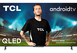TCL 55C725 QLED TV (Flat, 55 Zoll / 140 cm, QLED 4K, SMART TV, Android TV 11.0)