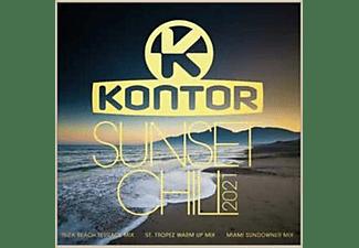 VARIOUS - Kontor Sunset Chill 2021  - (CD)