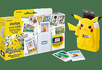 FUJIFILM instax mini Link Pikachu Case Bundle Fotodrucker Sofortdruck