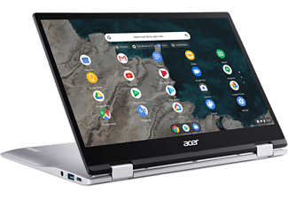 ACER Chromebook Spin 513 CP513-1H-S8PU, Snapdragon 7180c Lite, 4GB, 64GB, 13.3 Zoll Touch FHD, Silber
