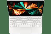 """Apple Magic Keyboard, Funda con teclado para iPad Pro de 12.9"""" (5ª gen), Español, Blanco"""