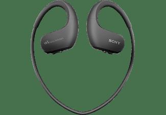 Reproductor MP3 deportivo - Sony Walkman NW-WS413,Almacenamiento interno (4GB), 12h Autonomía, Acuático, Negro