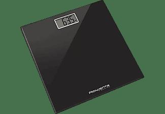 Báscula de baño - Rowenta BS1060 Premiss, Peso máximo 150 kg, Negro, Bajo consumo
