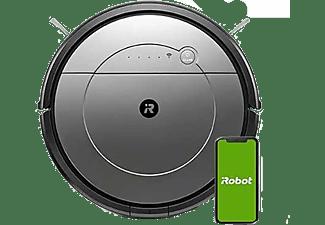 Robot aspirador - iRobot Roomba Combo 1138, WiFi, 3 modos de fregado, 0.3 l, 100 min, Control de voz, Gris