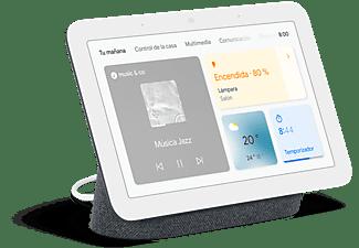 "Pantalla inteligente con Asistente de Google - Google Nest Hub (2 Gen), 7"", Micrófono, WiFi, Bluetooth, Carbón"