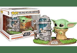 Figura - Funko Pop! Star Wars The Mandalorian Child Con Contenedor, Vinilo, Verde