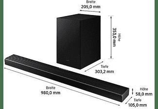 SAMSUNG HW-Q600A/ZG, Soundbar, Carbon Silber