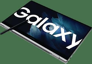 SAMSUNG GALAXY BOOK PRO 360 EVO, Convertible mit 13,3 Zoll Display, 8 GB RAM, 256 GB SSD, Intel Iris Xe Graphics, Mystic Silver