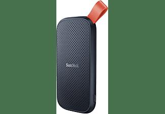 SANDISK Portable SSD Festplatte, 480 GB SSD, 2,5 Zoll, extern, Grau