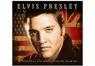 Elvis Presley - THE COMPLETE US & UK SINGLES COLLECTION 1954-62  - (CD)