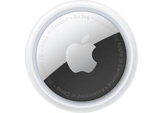 APPLE AirTag 1er Pack Tracker Weiß/Silber