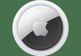 APPLE AirTag 4er Pack Tracker Weiß/Silber