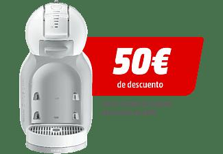 Cafetera de cásulas Nescafé Dolce Gusto - Krups Mini Me KP1201, 1500 W, Blanco