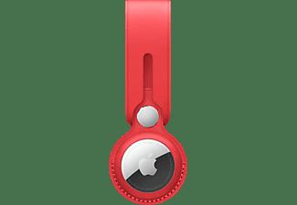 APPLE AirTag aus Echtleder Anhänger Product Red