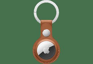 APPLE AirTag aus Echtleder Schlüsselanhänger Saddlebrown