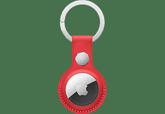APPLE AirTag aus Echtleder Schlüsselanhänger Product Red