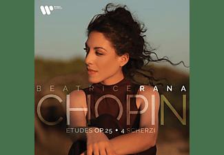 Beatrice Rana - Chopin: Etuden, op.25 & 4 Scherzi [CD]