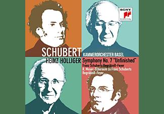 """Heinz Kammerorchester Basel/holliger - Sym.No.7 """"Unfinished""""/Begräbnis-Feyer/Echoraum  - (CD)"""